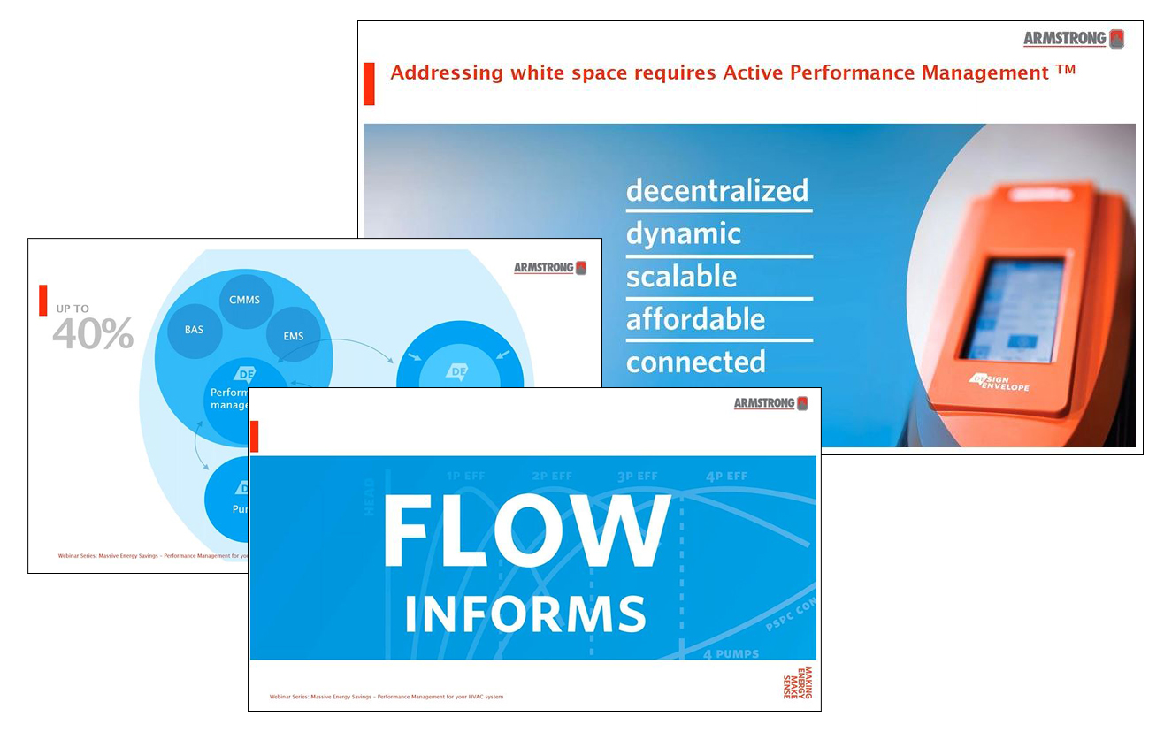 Massive Energy Savings through Performance Management